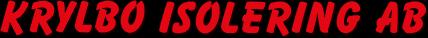 Krylbo Isolering